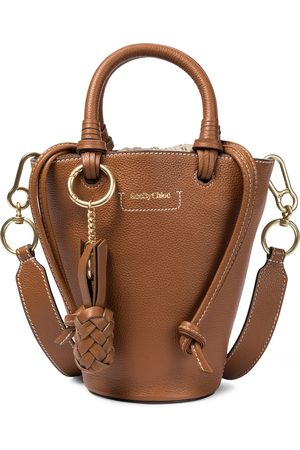Chloé Cecilya Small leather tote