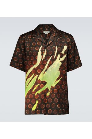 DRIES VAN NOTEN Patterned short-sleeved shirt