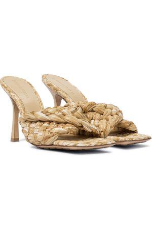 Bottega Veneta Stretch raffia sandals