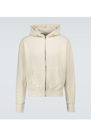 Les Tien Zipped hooded sweatshirt