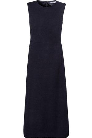 Max Mara Lindsey wool and cotton midi dress