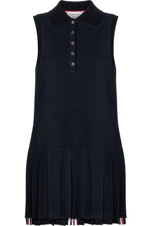 Thom Browne Cotton polo minidress
