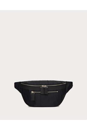 VALENTINO GARAVANI Vltn Times Nylon Jacquard Belt Bag Man 100% Poliammide OneSize