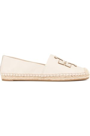 Tory Burch WOMEN'S 52035107 BEIGE LEATHER ESPADRILLES