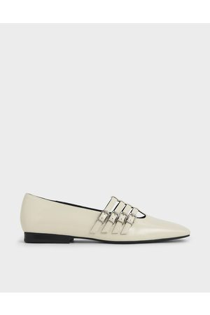 CHARLES & KEITH Buckled Mary Jane Flats