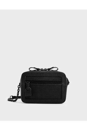 CHARLES & KEITH Two-Way Zip Shoulder Bag