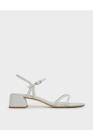 CHARLES & KEITH Strappy Block Heel Sandals