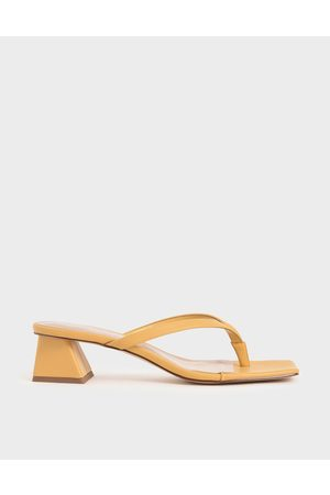 CHARLES & KEITH Thong Heeled Sandals