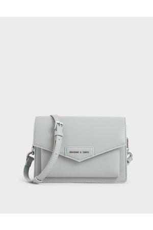 CHARLES & KEITH Envelope Crossbody Bag