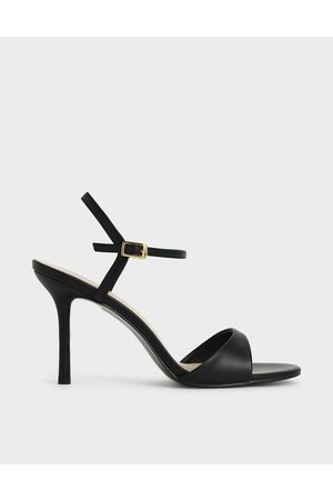 CHARLES & KEITH Women Sandals - Ankle Strap Stiletto Sandals