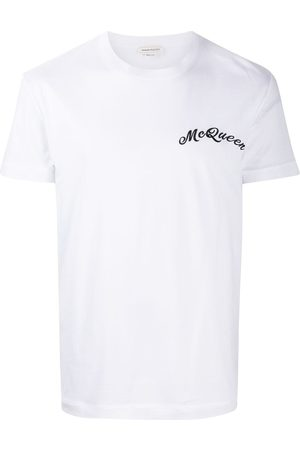 Alexander McQueen MEN'S 624180QQX019000 COTTON T-SHIRT