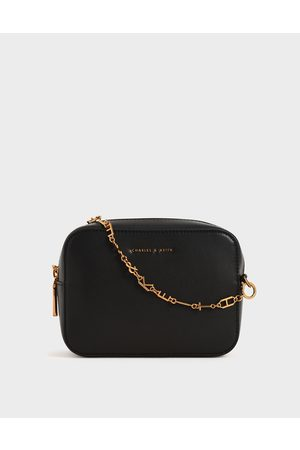 CHARLES & KEITH Chain-Link Rectangular Bag