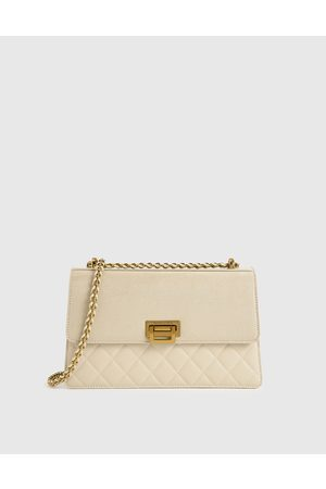 CHARLES & KEITH Quilted Shoulder Bag