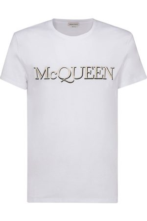 Alexander McQueen Men T-shirts - MEN'S 649876QQZ560900 COTTON T-SHIRT