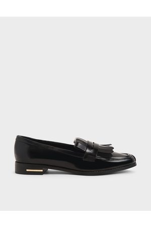 CHARLES & KEITH Frill Loafers