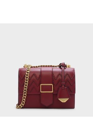 CHARLES & KEITH Women Shoulder Bags - Front Flap Chain Strap Crossbody Bag