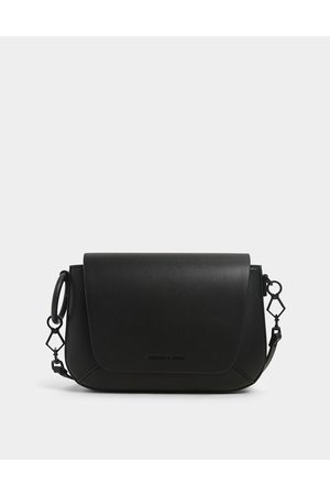 CHARLES & KEITH Women Shoulder Bags - Front Flap Crossbody Bag