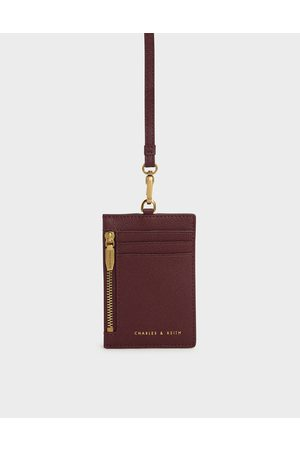 CHARLES & KEITH Women Wallets - Side Zip Card Holder