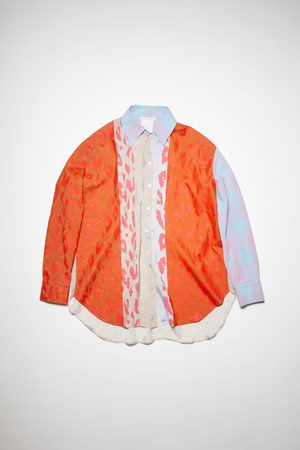 Acne Studios PS-WN-BLOU000003 /multi Contrasting blouse