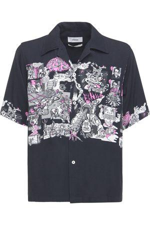 ELHAUS Printed Boxy Bowling Shirt