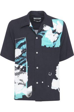 ELHAUS Glide Printed Boxy Bowling Shirt
