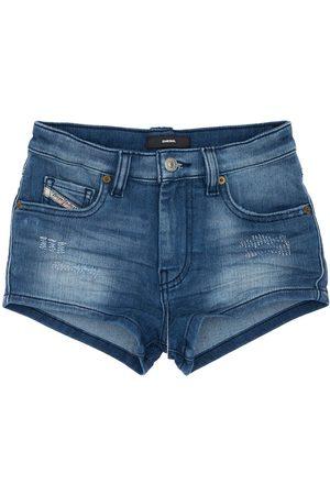 Diesel Girls Shorts - Distressed Effect Shorts