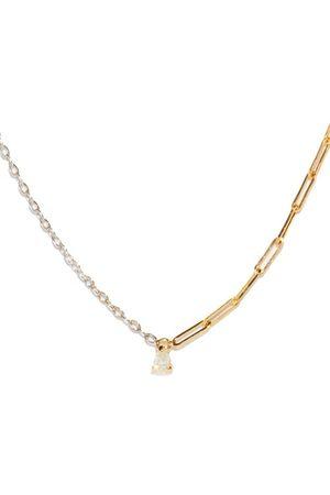 YVONNE LÉON Women Necklaces - Diamond & 18kt Necklace - Womens