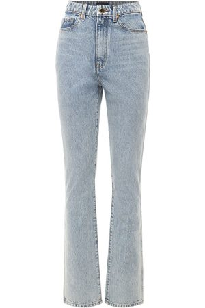 Khaite Women Slim - Daria Slim Cotton Denim Jeans