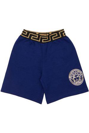 VERSACE Boys Shorts - Cotton Sweat Shorts