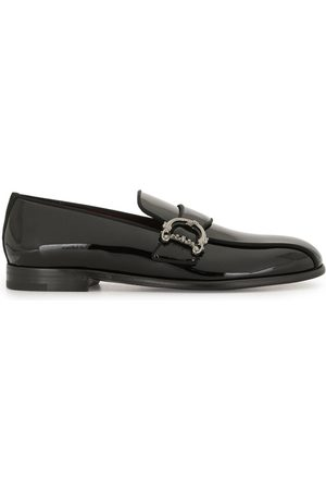 Dolce & Gabbana Baroque DG logo loafers