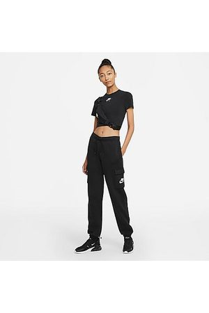 Nike Women Cargo Pants - Women's Sportswear Emea Fleece Cargo Jogger Pants in