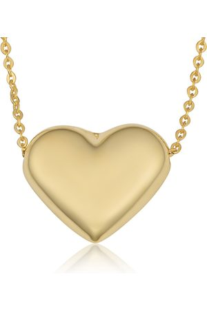 SuperJeweler Women Necklaces - (3 3 g) Bubble Heart Necklace