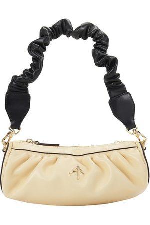MANU Women Purses - Ruched mini Cylinder bag