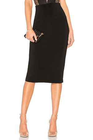 Norma Kamali Straight Skirt in .