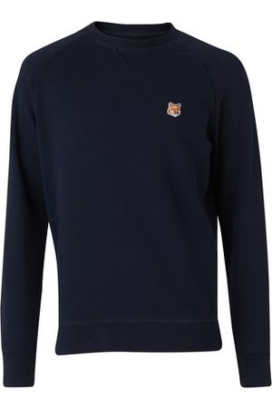 Maison Kitsuné Men Sweatshirts - Fox head patch sweatshirt