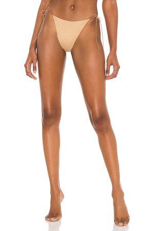 Tropic of C The C Bikini Bottom in Metallic .