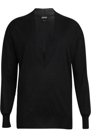 Tom Ford Women Sweaters - Deep v-neck jumper