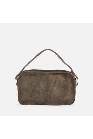 Nunoo Women's Helena Suede Cross Body Bag