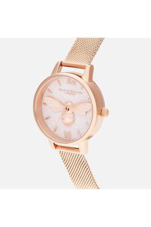 Olivia Burton Women Watches - Women's Glitter Dial Lucky Bee Watch
