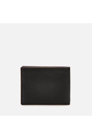 Coach Men's Pebble Leather Slim Bill Wallet