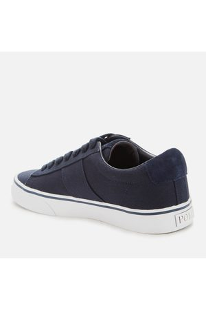Polo Ralph Lauren Men's Sayer Canvas Low Top Trainers