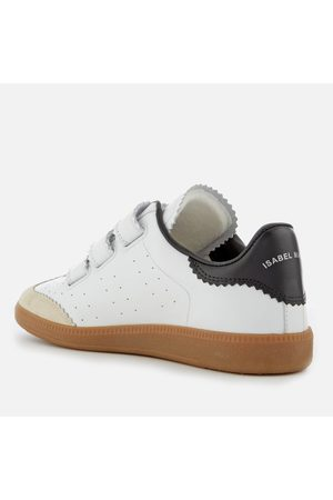 Isabel Marant Women's Beth Leather Triple Strap Trainers