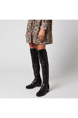 Stuart Weitzman Women's Reserve Leather/Suede Over The Knee Boots
