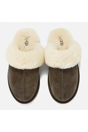 UGG Women Flat Shoes - Women's Scuffette II Sheepskin Slippers