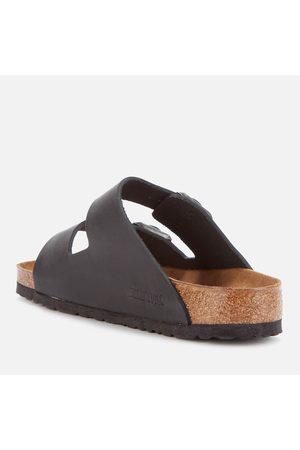 Birkenstock Men's Arizona Oiled Leather Double Strap Sandals