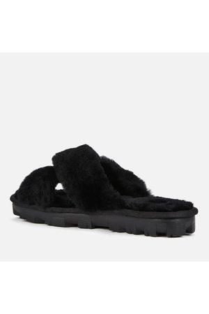UGG Women Sandals - Women's Fuzzette Skeepskin Slide Slippers