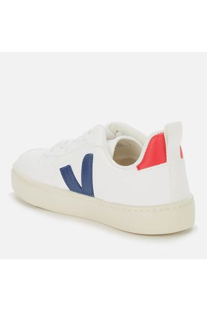 Veja Sneakers - Kid's V10 Lace Leather Trainers