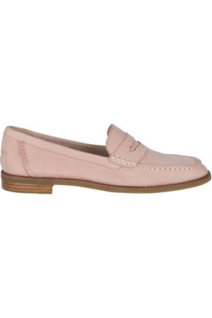 Sperry Top-Sider Women Loafers - Women's Sperry Seaport Penny Loafer Blush, Size 5M