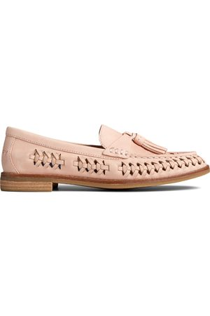 Sperry Top-Sider Women Loafers - Women's Sperry Seaport PLUSHWAVE Woven Loafer RoseDust, Size 6M