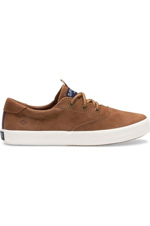 Sperry Top-Sider Sneakers - Sperry Kids Spinnaker Washable Sneaker Tan, Size 1M